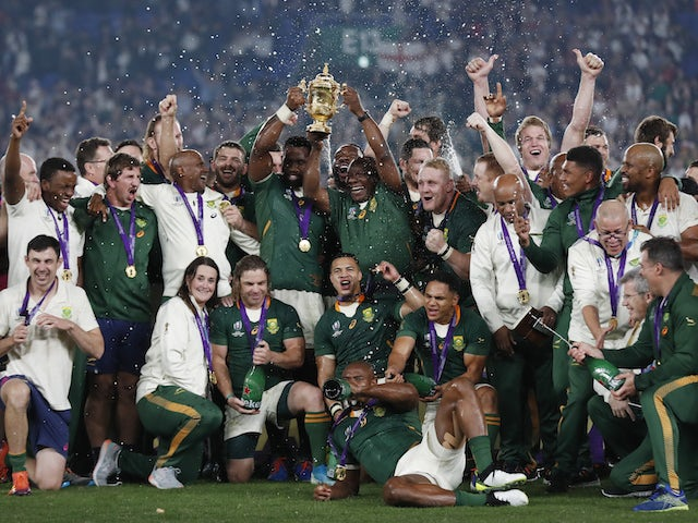 South Africa outclass England to win Rugby World Cup