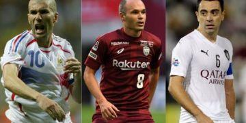 Xavi Vs Zidane Vs Iniesta : Who is The Real G.O.A.T?
