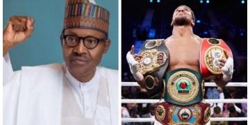 Boxing: Buhari hails Anthony Joshua on comeback victory