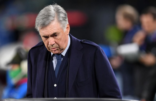 Ancelotti breaks silence amid links to Arsenal,Everton