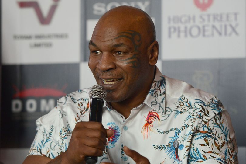 Mike Tyson and workout
