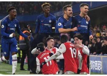 EPL: 10-man Arsenal battle Chelsea to draw at Stamford Bridge - Sporting Life