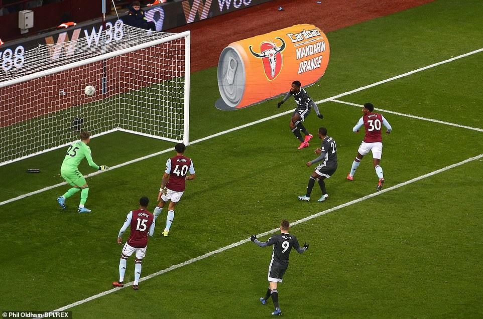 Iheanacho's goal not enough as Trezeguet sends Villa into EFL Cup final