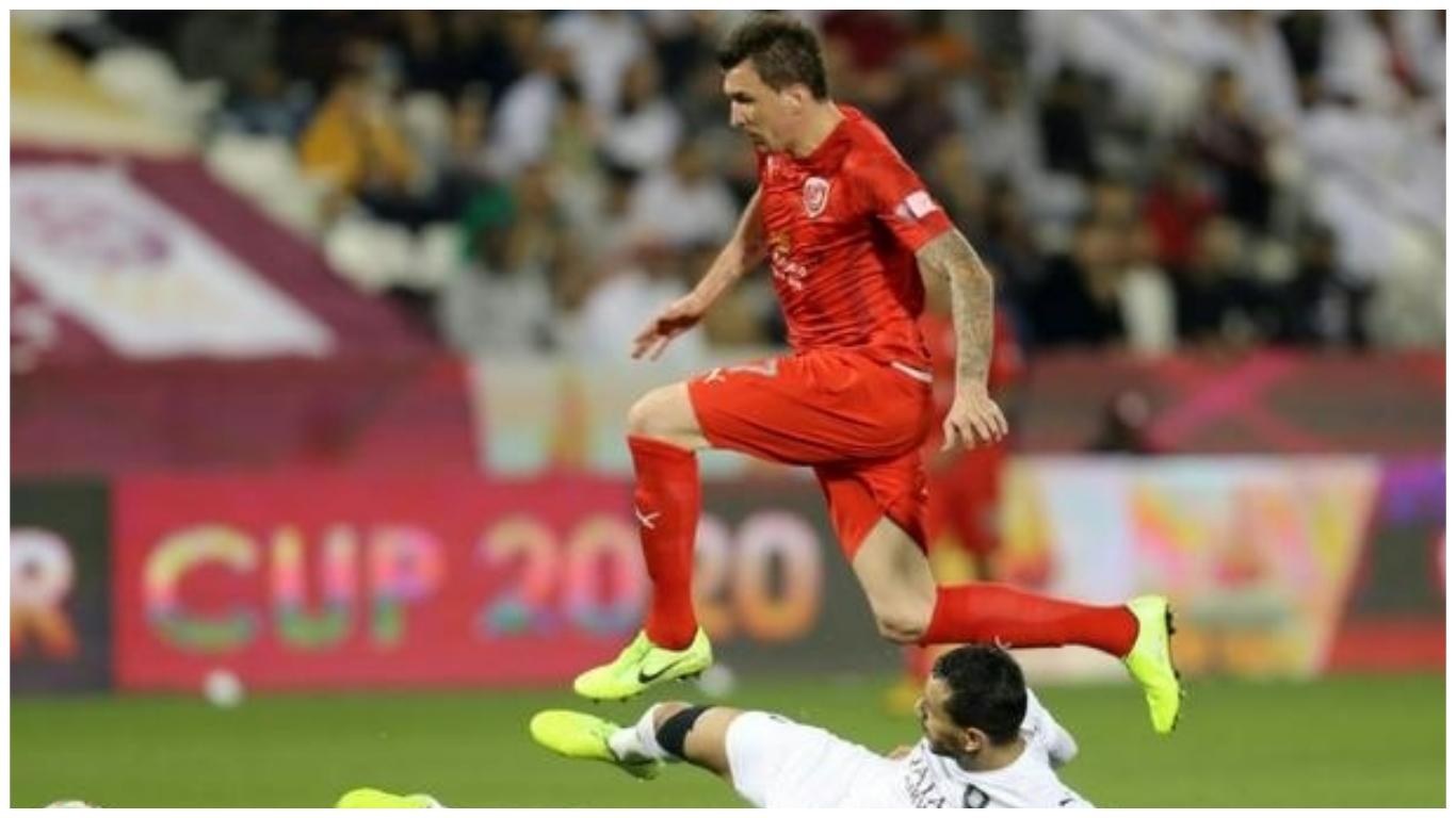 Mandzukic scores on Al Duhail Champions League debut