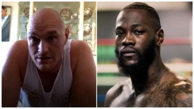 Tyson Fury responds to Wilder 'demanding