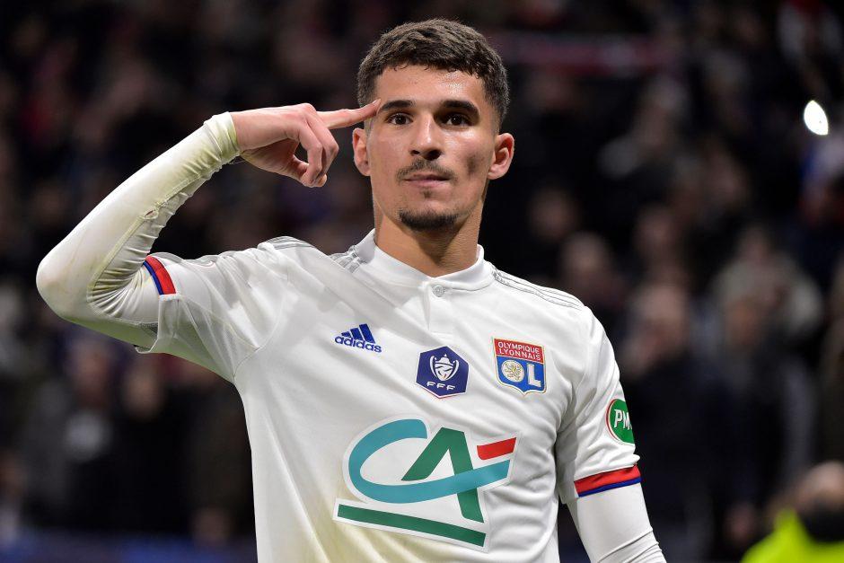 Arsenal join Tottenham in Houssem Aouar's transfer race