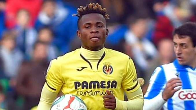 Iwobi's Everton lining up move for Villarreal forward Chukwueze