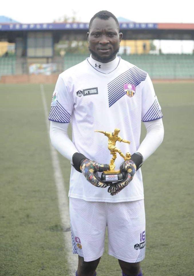 Adeniyi Bamidele Wins MFM FC POTM Award