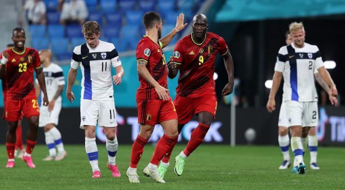 Euro 2020: Belgium beat Finland to secure third win