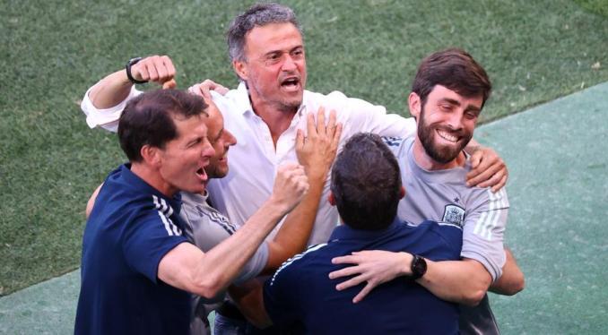 Euro 2020: Spain coach Enrique hails team spirit after 'crazy' win