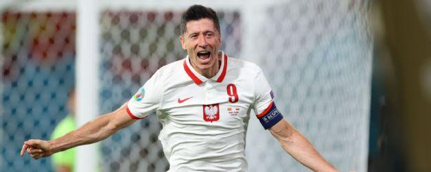 Euro 2020: Lewandowski nets as Spain struggle to draw with Poland