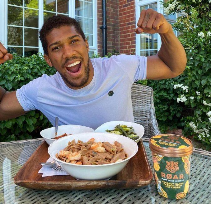 Anthony Joshua Reveals His 5,000 Calories Per Day Diet