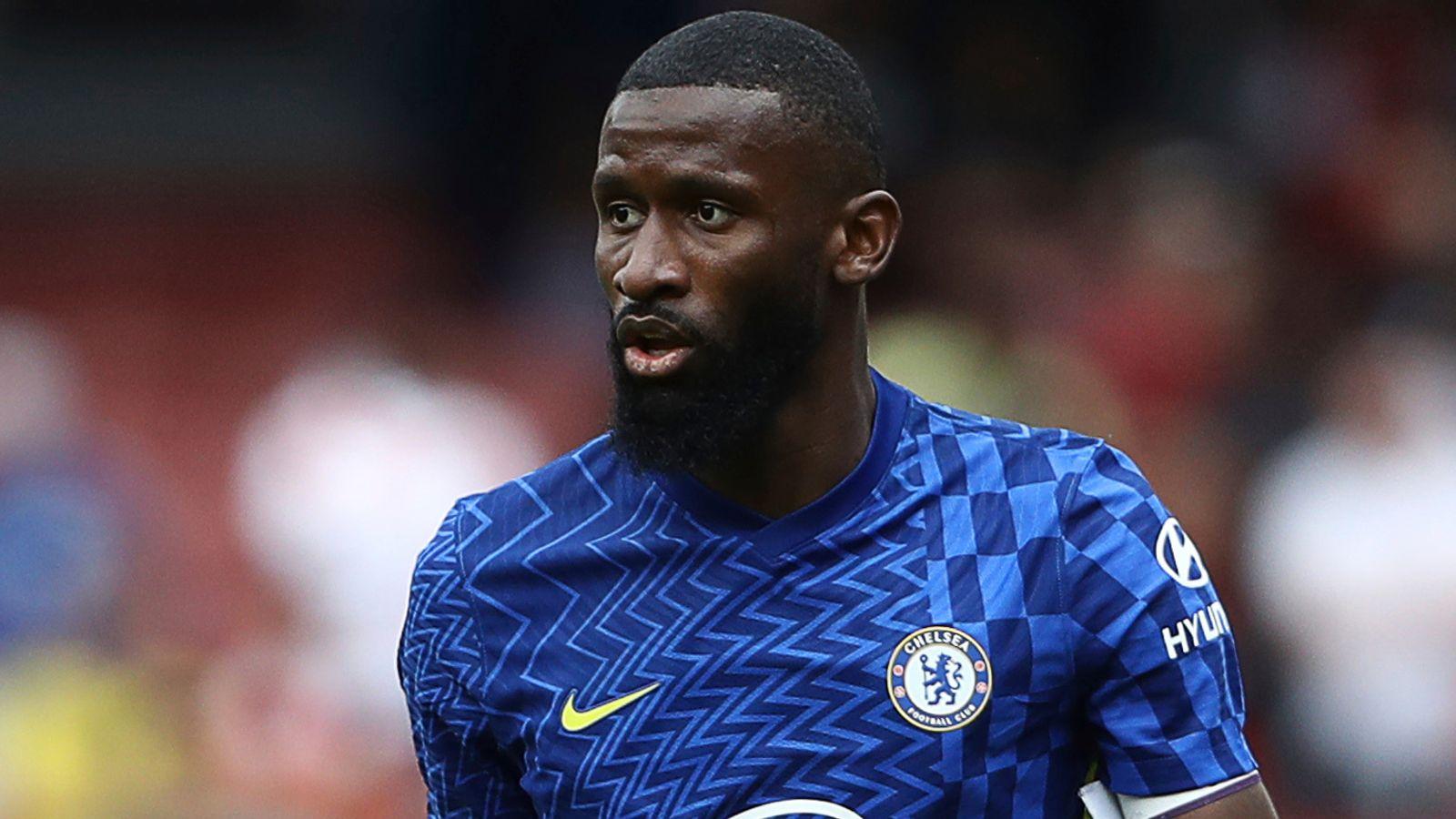 Antonio Rudiger weighing up Chelsea future