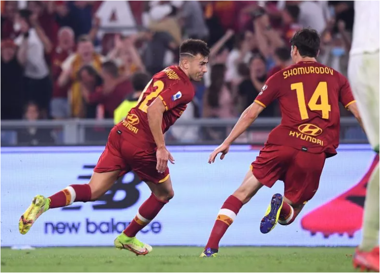 El Shaarawy stunner gives Roma last-gasp win over Sassuolo