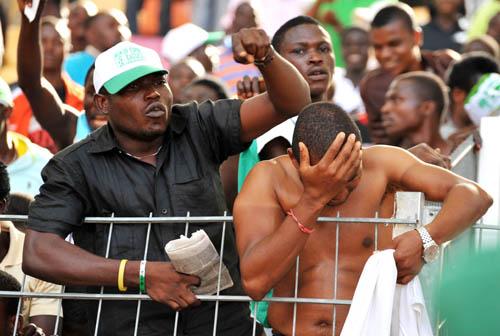 Lagos football fans
