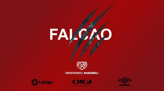 Rayo Vallecano confirm signing of Radamel Falcao