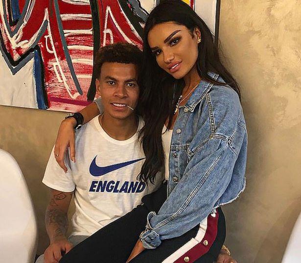 dele alli with girlfriend