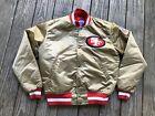 Vintage San Francisco 49ers NFL Starter Quilted Jacket, M