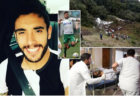 Chapecoense Survivor Alan Ruschel Reveals The Plane Disaster Is