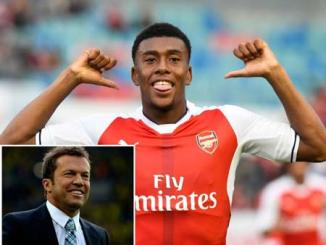 alex iwobi and lothar matthaus
