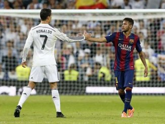 'Cristiano Ronaldo is the best I've played with and Neymar is the hardest to defend against'