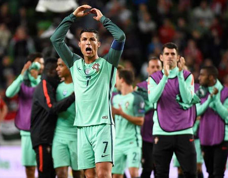 Ronaldo misses training ahead of Andorra clash