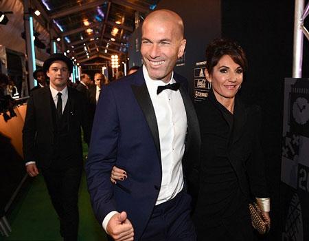 Zinedine Zidane named top men's coach in FIFA's The Best awards