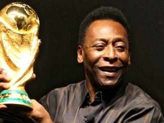 Brazilian legend Pele
