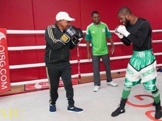 Alaafin at 80 boxing