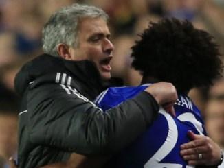 Mourinho and Willian