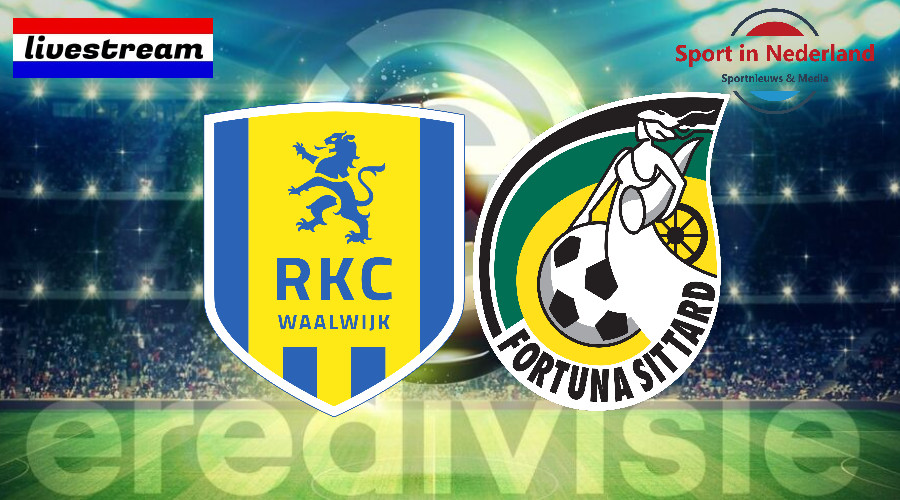 Eredivisie livestream RKC Waalwijk – Fortuna Sittard