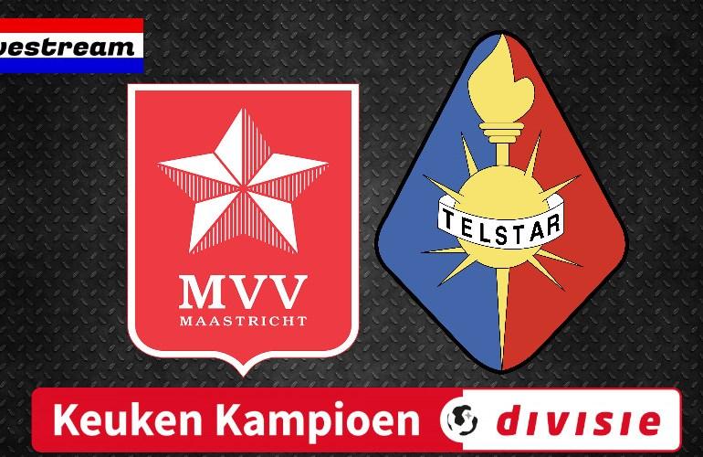 KKD livestream MVV Maastricht - Telstar