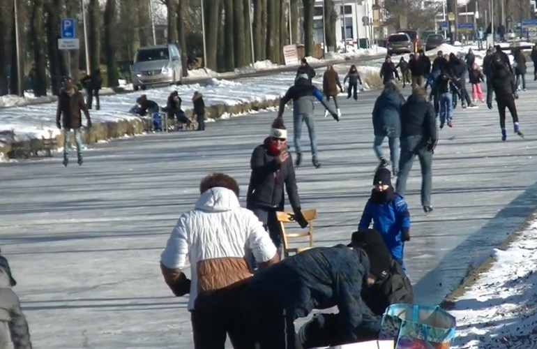 Winter in Nederland: Nog even nagenieten (video)