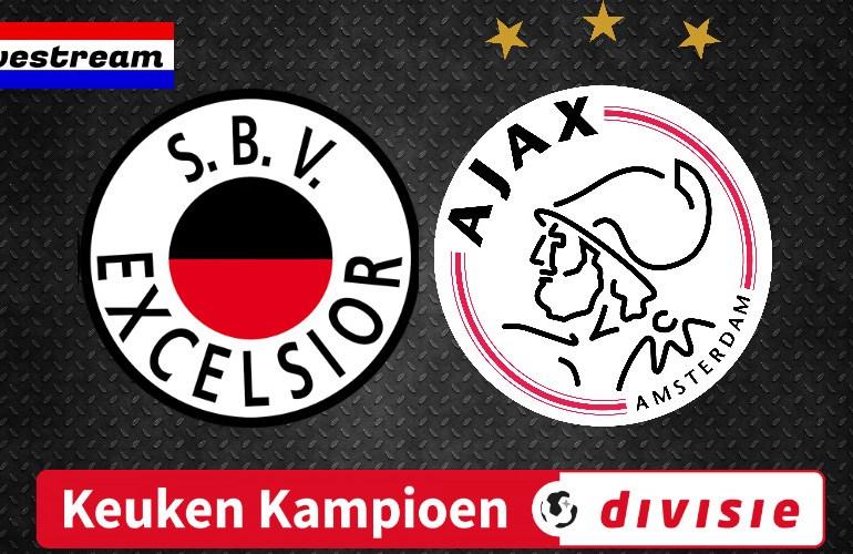 KKD livestream Excelsior - Jong Ajax