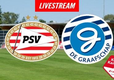 Livestream Jong PSV - De Graafschap | KIJK GRATIS LIVE
