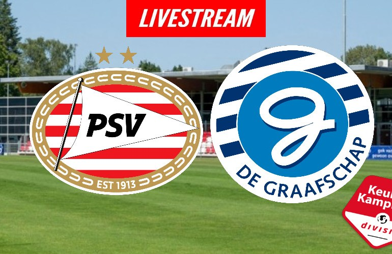 Livestream Jong PSV - De Graafschap   KIJK GRATIS LIVE