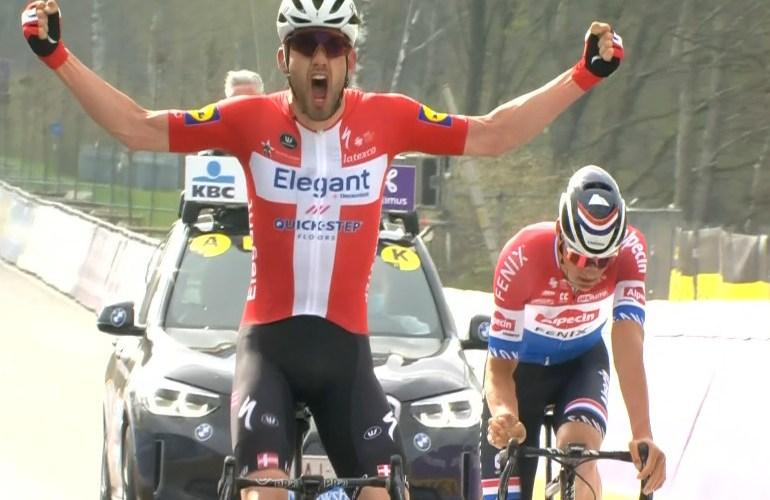 Asgreen klopt van der Poel in Ronde van Vlaanderen