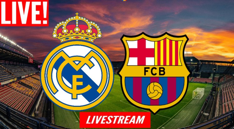 Livestream Real Madrid - FC Barcelona | El Clasico LIVE