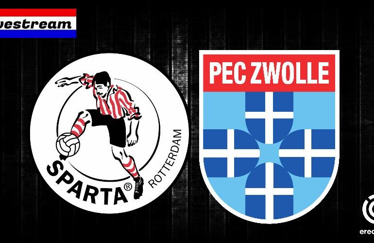 Sparta - PEC Zwolle kijken | Gratis eredivisie LIVESTREAM