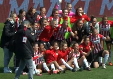 Voetbalsters PSV bereiken finale KNVB Beker
