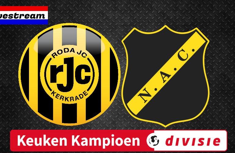 Roda JC - NAC   LIVESTREAM   Keuken Kampioen Divisie