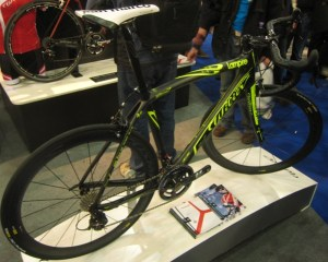 Maybe the 2012 team bike - pretty sure Lampre now ride Merida bikes...