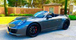 PORSCHE 991 GTS CABRIOLET 3.0 450 CH