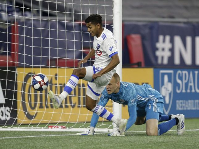 Jackson-Hamel's first two goals of the season lead Impact over Revolution — Montreal Gazette