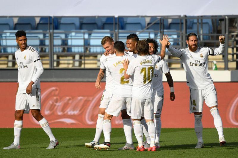 Real Madrid narrow gap to Barcelona on LaLiga return with comfortable win over Eibar — Archysport