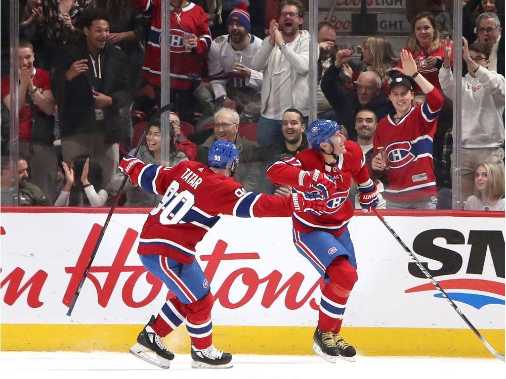 Liveblog: Golden Knights tie — Montreal Gazette