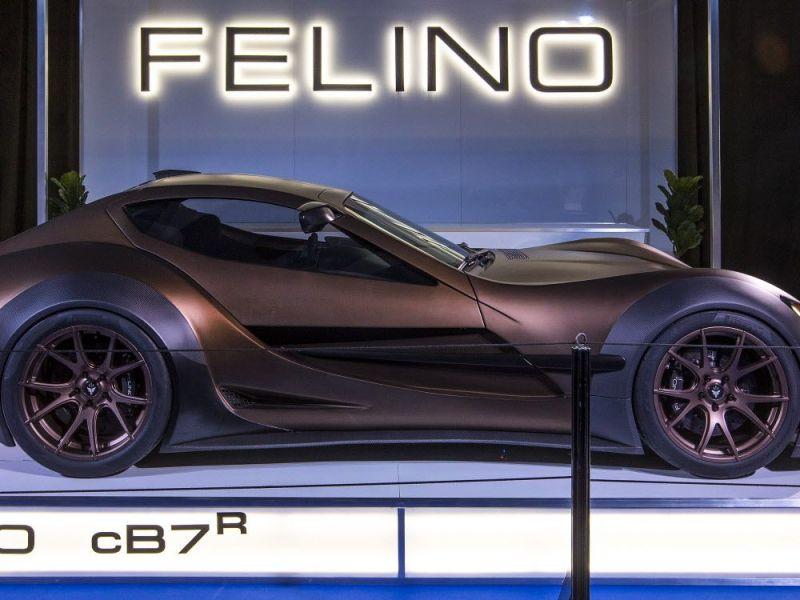 Montreal Auto Show: Quebec-built super car Felino CB7R custom built to each driver — Montreal Gazette