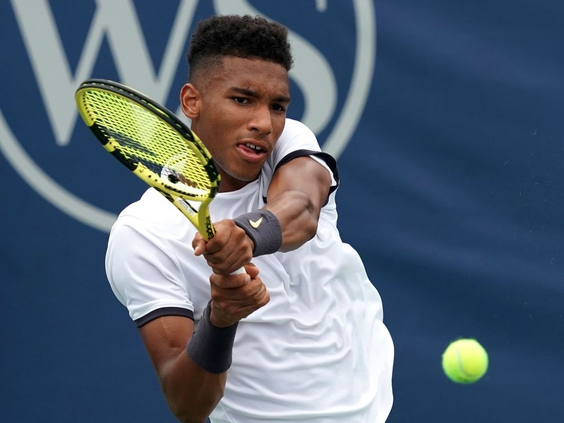 Félix Auger-Aliassime passes first test at Western and Southern Open — Montreal Gazette