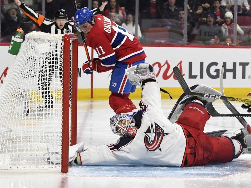 Ste-Agathe's Dubois scores twice to lead Columbus over Canadiens — Montreal Gazette