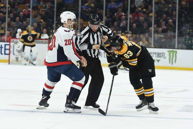 Lars Eller Tries to Tussle With Brad Marchand in Caps' 4-2 Win; Postgame Reactions — NoVa Caps
